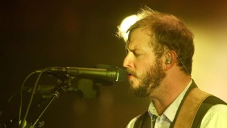 Bon Iver Played Three Songs Amidst Massive Beams Of Light On 'CBS This Morning'