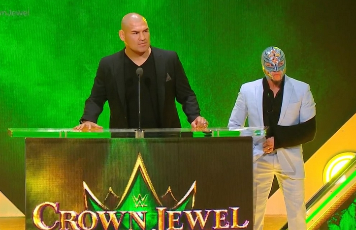WWE Announced Matches For Tyson Fury And Cain Velasquez At Crown Jewel