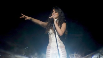 Camila Cabello's Grammys Performance Was A Tear-Jerking Rendition Of 'First Man,' An Ode To Her Dad