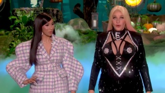 Ellen DeGeneres Dresses As 'Cardi E' For Halloween, And Cardi B Loves It