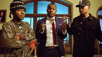 Chance The Rapper, MadeInTYO, And DaBaby Tear Up A Courtroom In The Comedic 'Hot Shower' Video