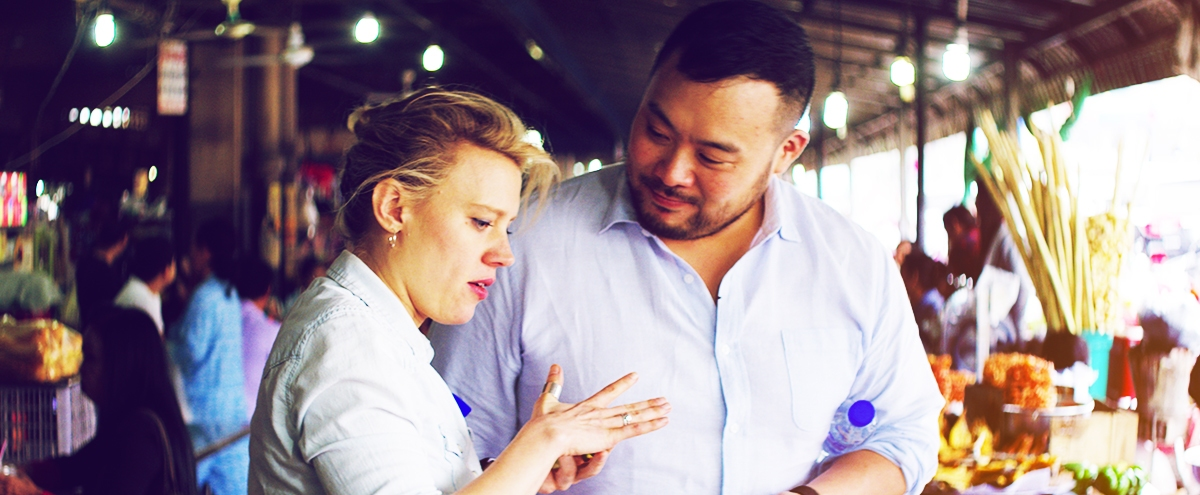 David Chang's Newest Travel Show Might Have Unexpectedly Delivered The Next Bourdain In Kate McKinnon