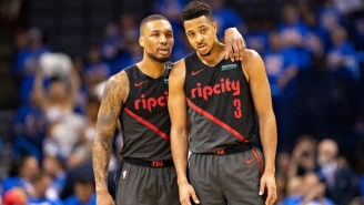 Damian Lillard And CJ McCollum Had A Blast On Twitter After The Clippers Got Bounced