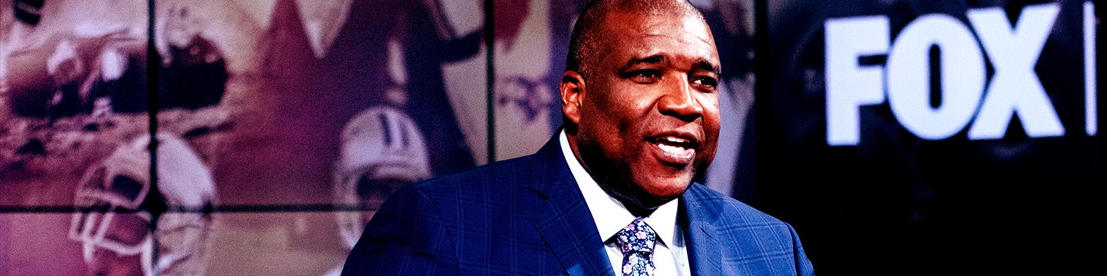 Curt Menefee Steers The Ship On 'Fox NFL Sunday'