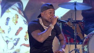 DaBaby Turned 'The Tonight Show' Stage Upside Down With A Medley Of 'Kirk' Bangers
