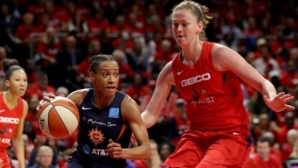 The Washington Mystics Beat The Connecticut Sun To Win Their First WNBA Title