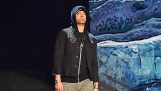 Eminem Receives High Praise From Rap Legend Rakim: 'He's A Beast'