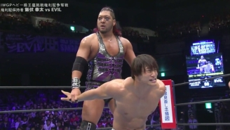 NJPW's Evil Is Injured And Was Pulled Off The Power Struggle Tour
