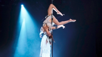 FKA Twigs Delivers An Impressive Pole Dancing 'Cellophane' Performance On 'The Tonight Show'