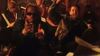 G-Eazy Goes Crazy In His Heist-Themed 'I Wanna Rock' Video With Gunna Riding Shotgun