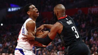 Chris Paul And Shai Gilgeous-Alexander Are Warring Over Who Wins Shooting Drills In Practice