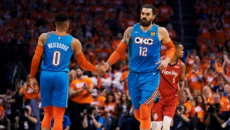 Steven Adams Used A 'Morbid' Analogy About Russell Westbrook Leaving The Thunder