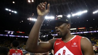 Having 'Fun' At Work Helps Serge Ibaka Stay Focused On Basketball