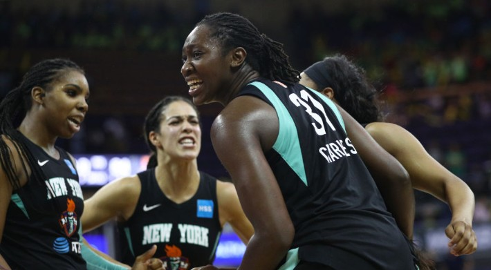 The New York Liberty Will Play At Barclays Center Starting Next Season