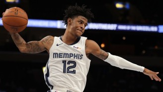 Ja Morant Made A Tough Finish In Traffic To Deliver His First Ever Game-Winner