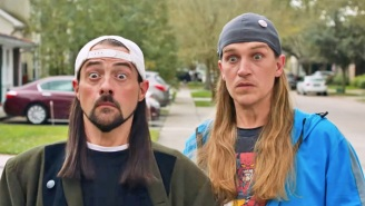 Jay And Silent Bob Think They Know (Or Do They?) Who Batman And Wonder Woman Would Vote For