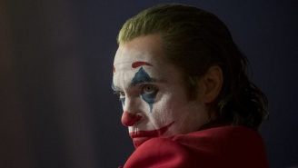 Joaquin Phoenix's 'Joker' Look Is Popping Up At Protests Like The 'V For Vendetta' Guy Fawkes Mask Before It