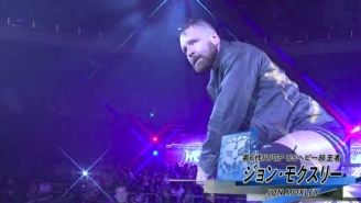 Jon Moxley Had To Vacate New Japan's IWGP United States Championship After Travel Delays