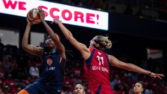 Jonquel Jones Dominated As The Sun Beat The Mystics In Game 2 To Even The Finals At 1-1