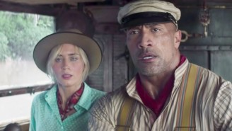 Dwayne 'The Rock' Johnson And Emily Blunt Go On A River Adventure In The 'Jungle Cruise' Trailer