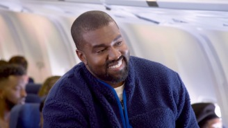 Kanye West's Airplane Edition Of 'Carpool Karaoke' Is Backed By The Sunday Service Choir
