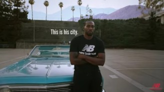 New Balance Launched A 'Reign Over LA' Campaign For Kawhi Leonard
