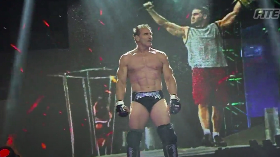 Ken Shamrock Made A Shockingly High-Flying Return To Impact Wrestling Competition At Bound For Glory