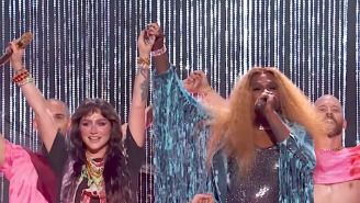 Kesha And Big Freedia Deliver A Very Pink Performance Of 'Raising Hell' On 'Kimmel'