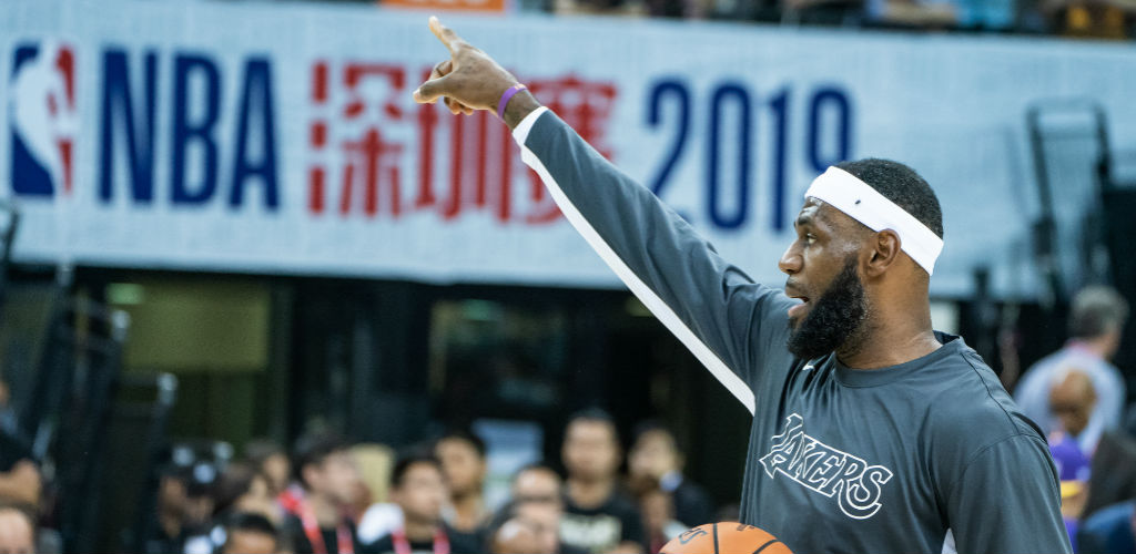 LeBron James Reportedly Led A Players-Only Meeting In China Over The Hong Kong Controversy