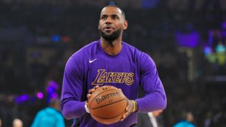 LeBron James Plays 'NBA 2K' The Same Way He Plays Basketball In Real Life