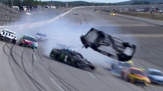 'The Big One' At Talladega Featured Brendan Gaughan Flipping A Car Through The Air