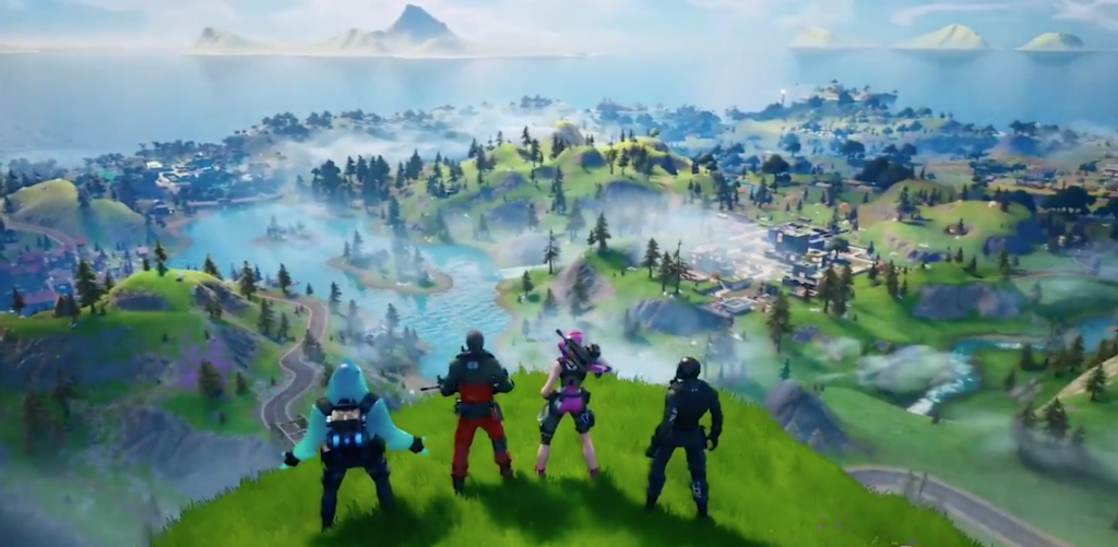 'Fortnite' Is Finally Back From The Black Hole With A New Map For Chapter Two