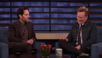 Paul Rudd Pulled That Long-Running 'Mac And Me' Prank On Conan O'Brien Yet Again