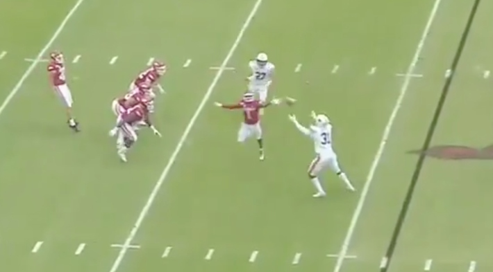 Arkansas Attempted What May Go Down As The Worst Fake Punt In Football History