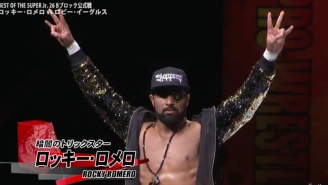 Rocky Romero Talks About His New Album 'Sneaky Style' And New Japan Pro Wrestling Of America