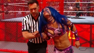 Update On Sasha Banks' Injury From Hell In A Cell