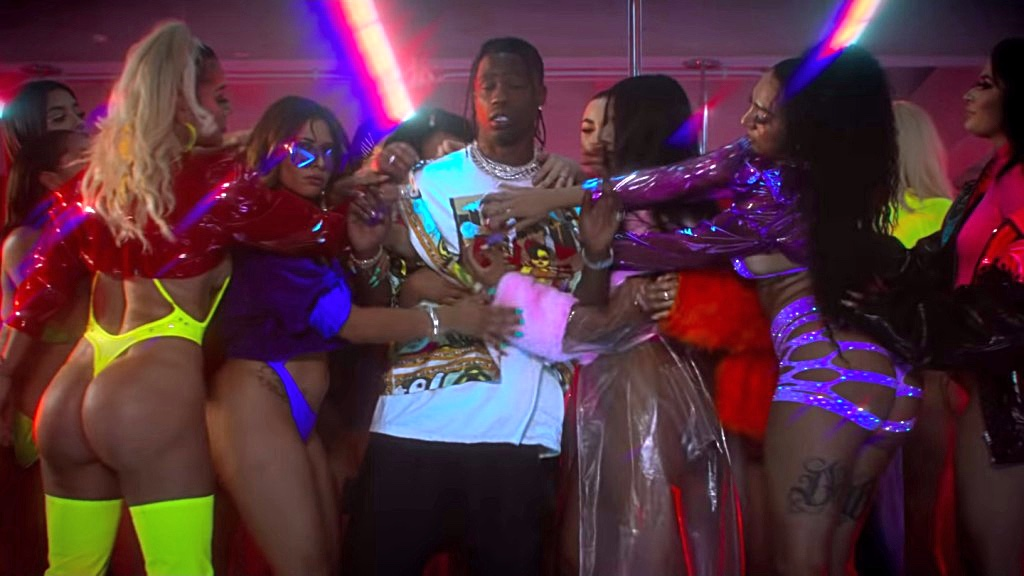 Travis Scott Works Out His Women Issues In The Surreal 'Highest In The Room' Video