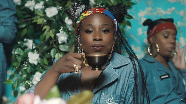 TeaMarrr Builds Herself A Perfect Man In The 'Kinda Love' Video Starring Issa Rae