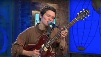 Big Thief Performed A Soulful Rendition Of 'Two Hands' And 'Not' On 'CBS This Morning'