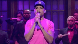Chance The Rapper Got Help From His Daughter And Megan Thee Stallion His 'SNL' Performance