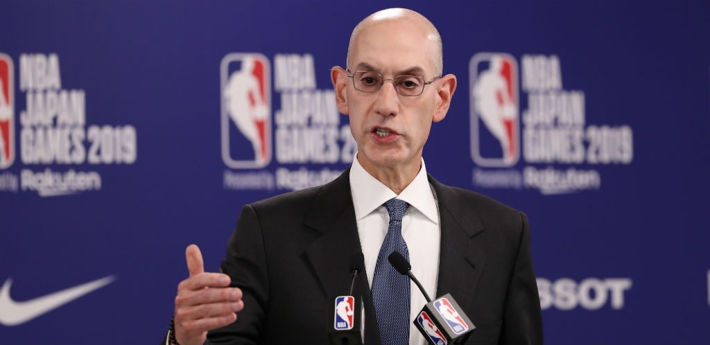 Adam Silver Claims China's Government And Businesses Asked For Daryl Morey To Be Fired
