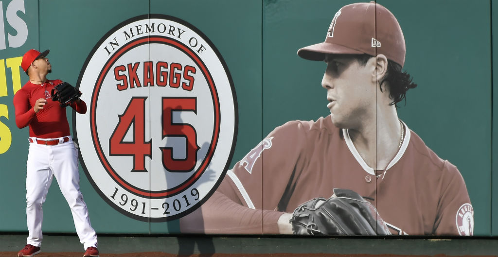 An Angels Employee Reportedly Supplied Tyler Skaggs With Opioids Ahead Of His Overdose Death