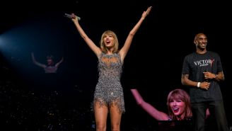 The LA Kings Will Cover A Taylor Swift Banner At Staples Center During Games