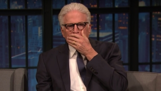 Ted Danson Got Competitive With Jon Krasinski And Spoiled The Big Twist In 'The Good Place'