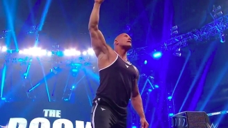 Watch The Rock Make His Electrifying Return To WWE On Friday Night Smackdown