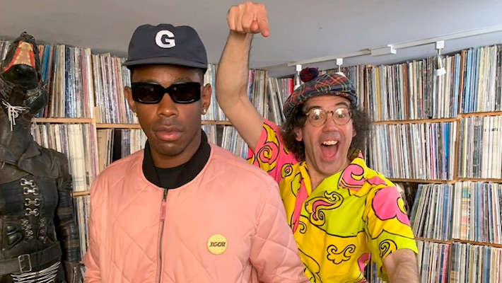 Tyler The Creator And Nardwuar Talk About Justin Bieber's Armpit Hair And Bad UK Food