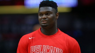 Zion Williamson Is Slated To Miss A 'Period Of Weeks' Due To His Knee Injury