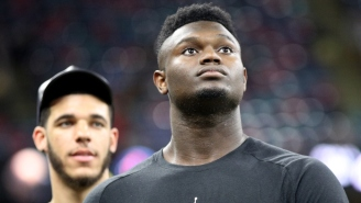 Zion Williamson Didn't Travel With The Pelicans To New York Due To 'Knee Soreness'