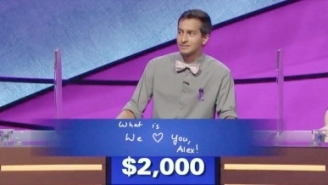 The 'We Love You, Alex!' Contestant On 'Jeopardy!' Is Doing Another Heartfelt Tribute To Alex Trebek