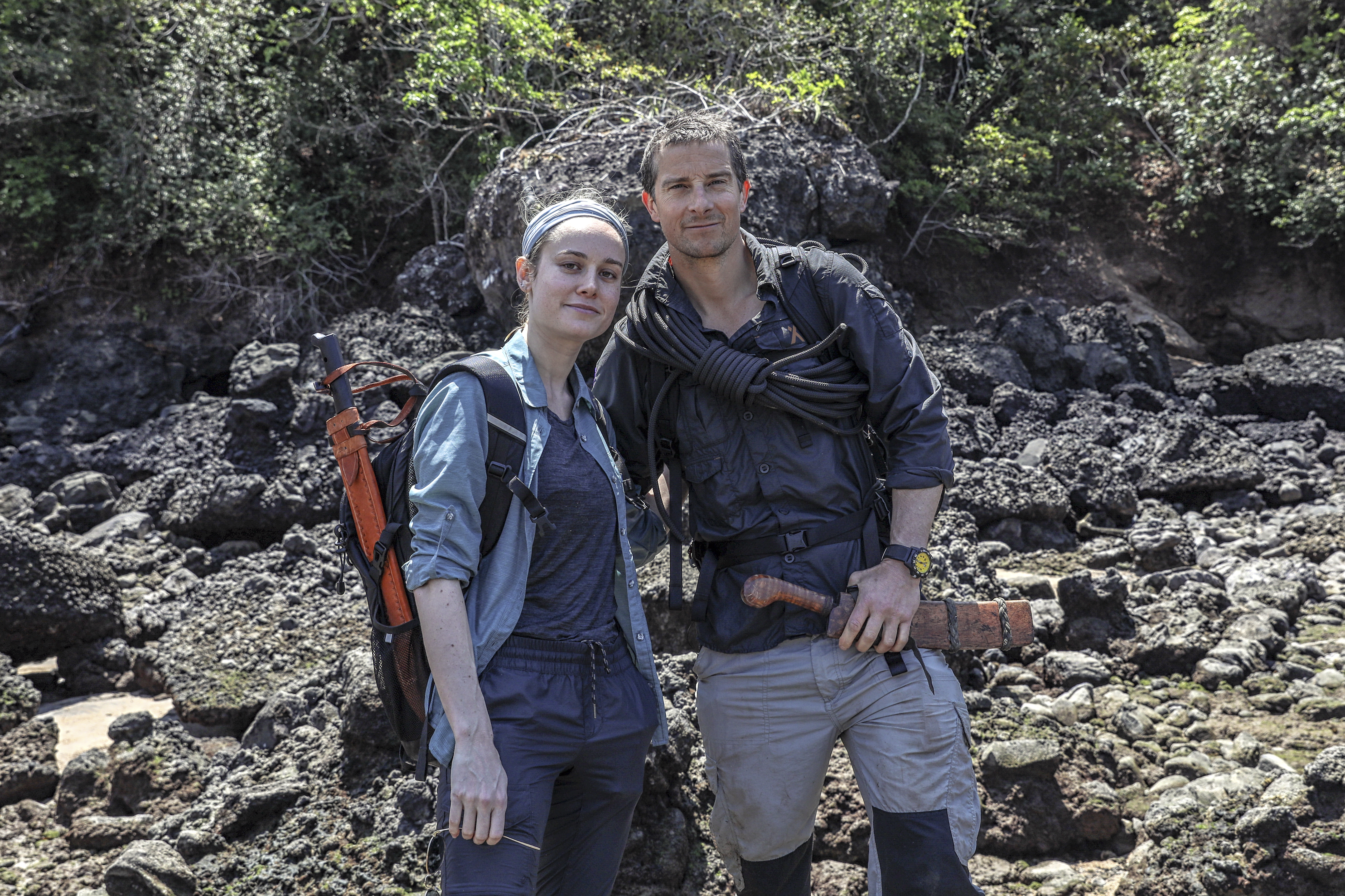 Bear Grylls Just Wants You (And His Famous Friends) To Go On An Adventure